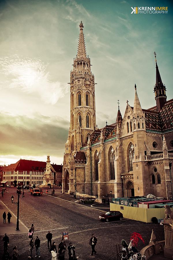 Matthias Church by piximi
