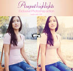 August Highlights Photoshop Action