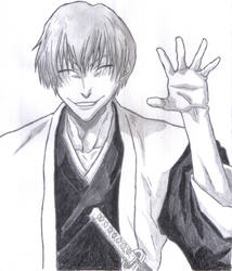 ichimaru GIN by nick555