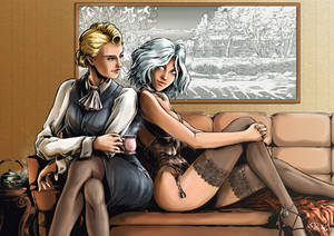 Helen and Calliope to lounge- correct version