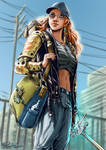 Tribute to Shadowrun by psychee-ange