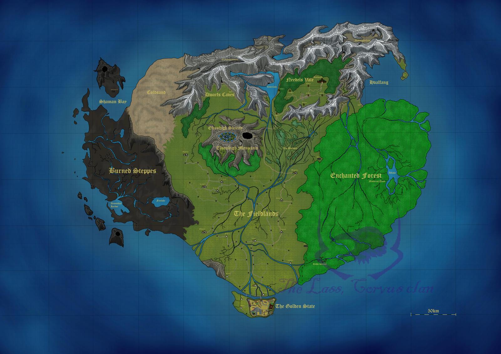 Fantasy Maps Islands