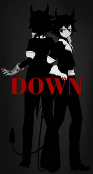 MMD - Human Bendy The Demon - Download Down by ShiinaRei