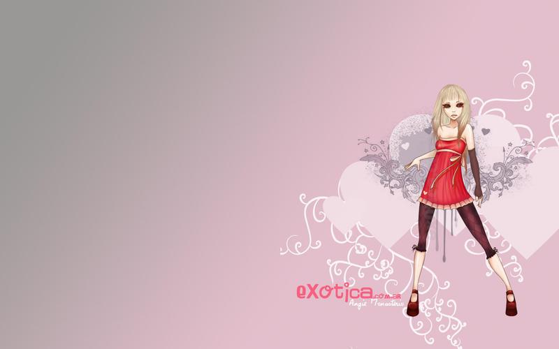 1440x900 Autumn wallpaper by chikaex0tica