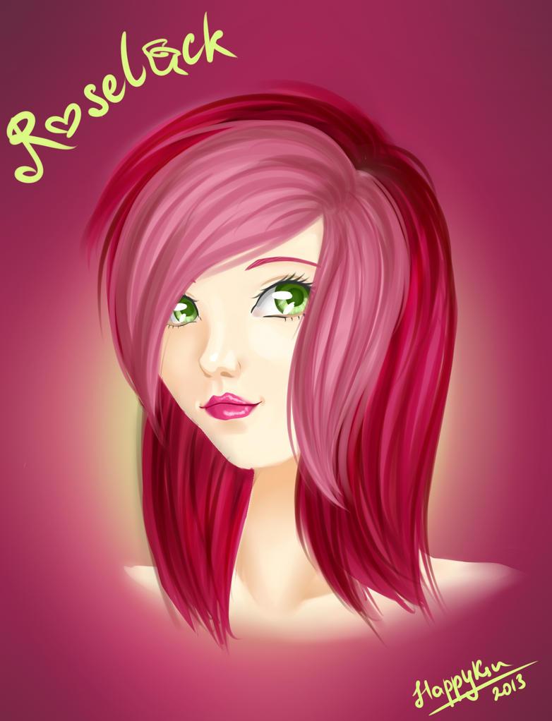 Roseluck Humanized Portrait by HappyKsu