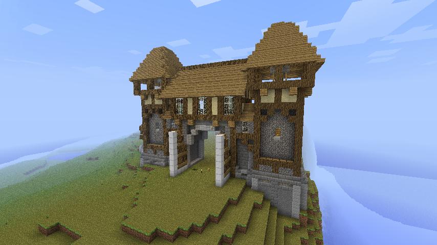 Main-Entrance (Minecraft) by Nosh0r on DeviantArt