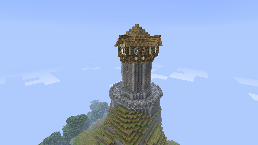 minecraft tower