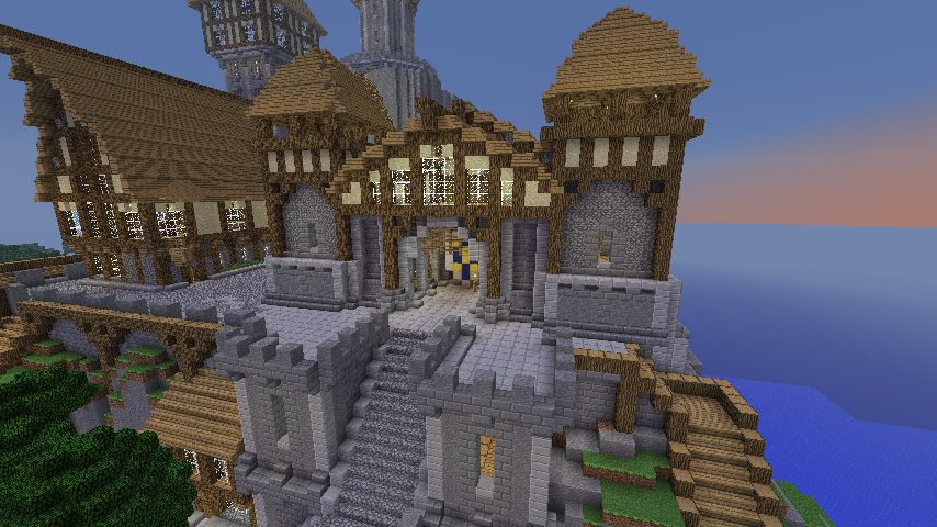 Medieval Minecraft City By Nosh0r