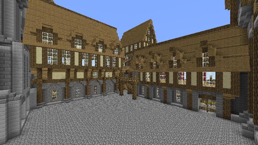 Proceeding On The Castle. (minecraft) By Nosh0r ...