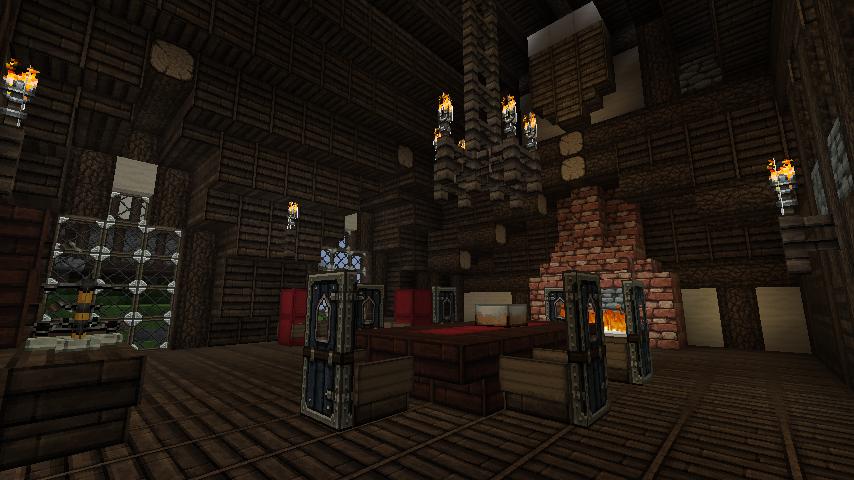 Inside The Inn Minecraft By Nosh0r