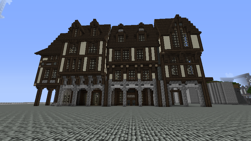 1000 images about minecraft medieval build ideas on pinterest for Minecraft exterior design ideas