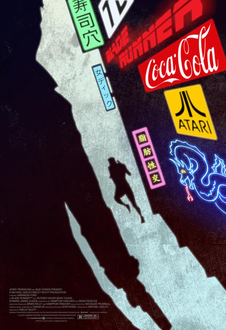 Movie Poster - Blade Runner by closerInternal