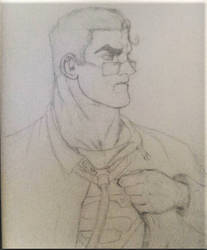 Superman SKETCH