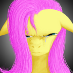 Angry Fluttershy tears