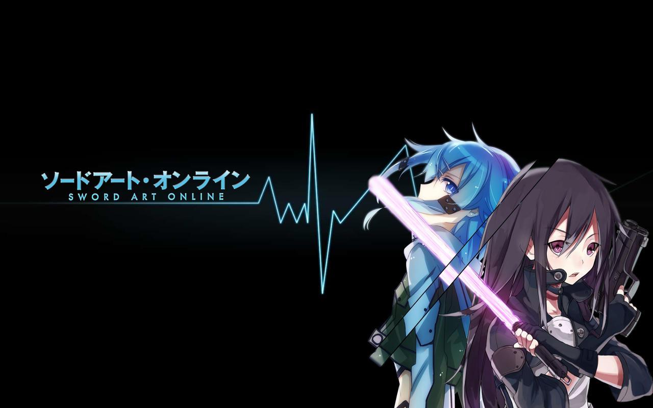 Sword Art Online 2 Sinon X Kirito Wallpaper By Azumatenshi On