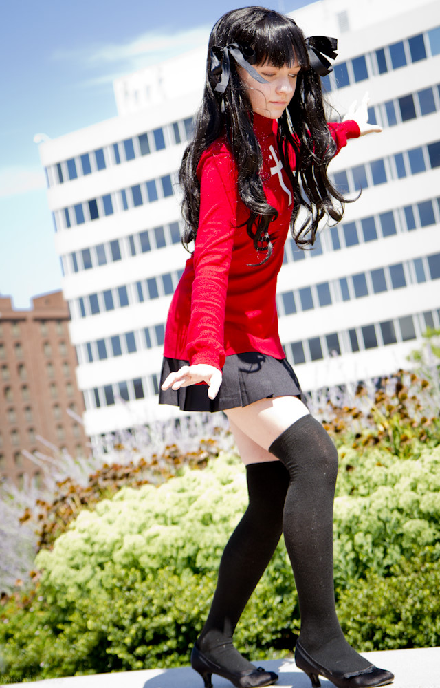 Rin Tohsaka On the Edge by HatterSisters
