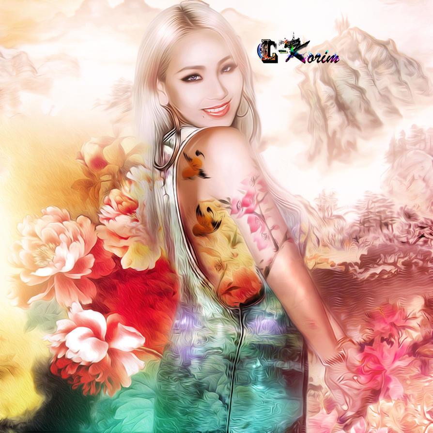 Cl 2ne1 Lc-korim Art Asia Style By Lc-Korim On DeviantArt