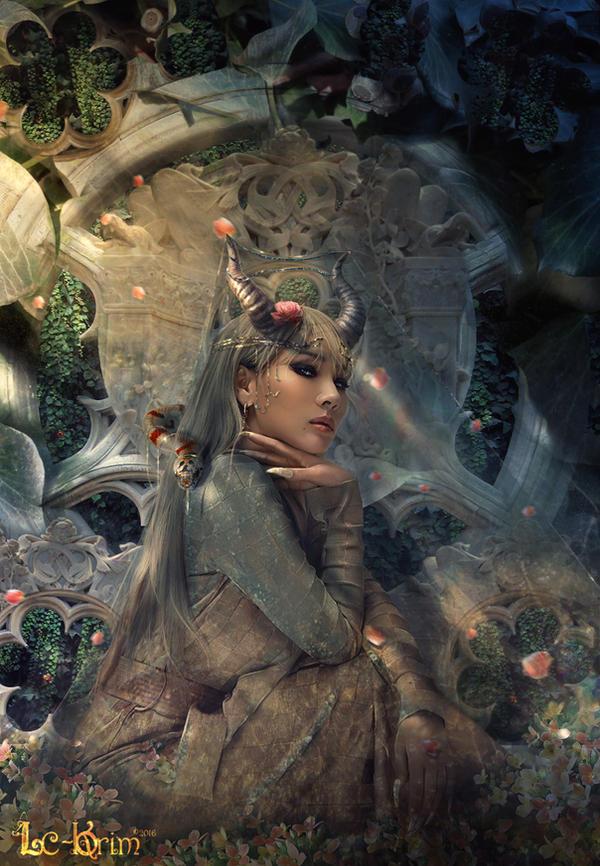 Mystic Queen by Lc-Korim