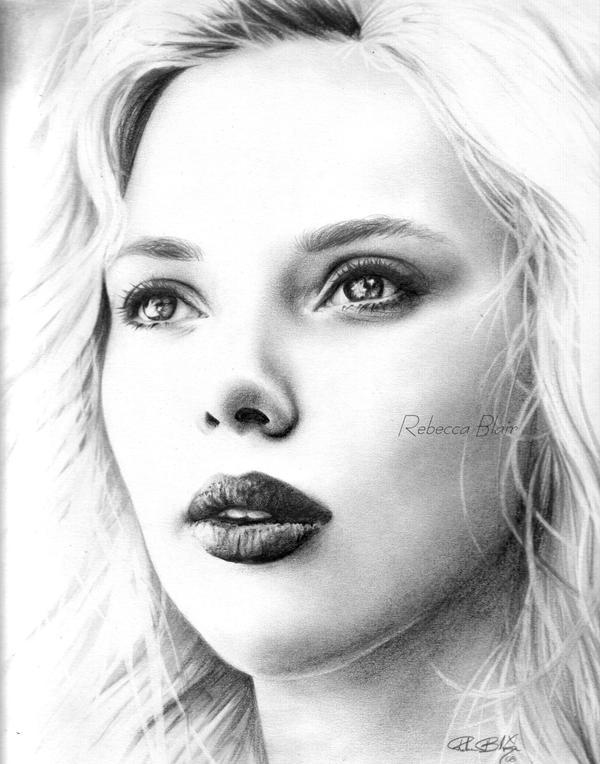 Scarlett Johansson by R-becca