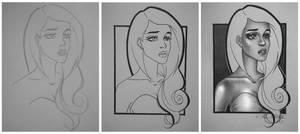 2D Beauty - WIP shots