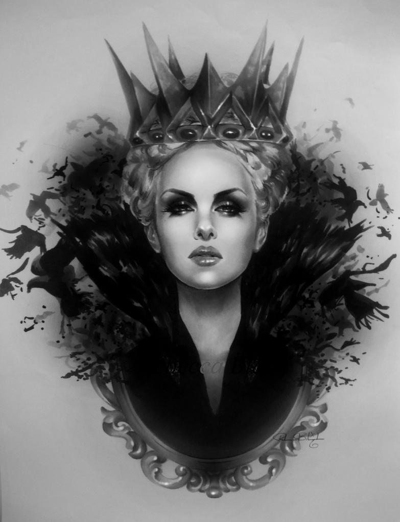 Ravenna - Snow White and the Huntsman by R-becca on DeviantArt