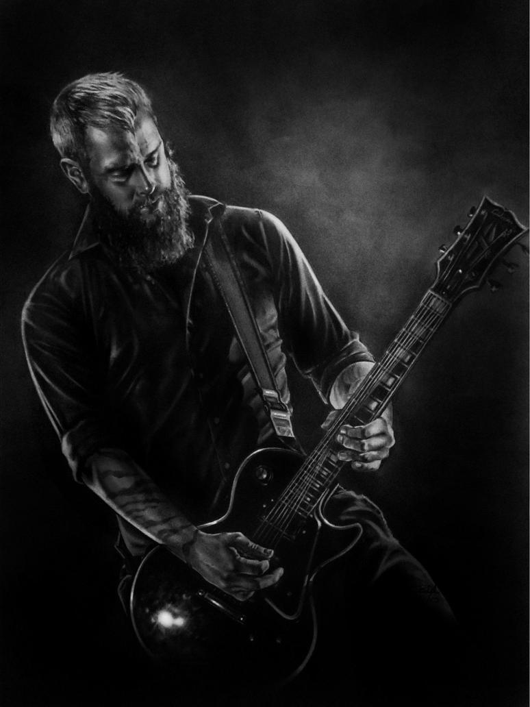 Bjorn Gelotte - In Flames by R-becca