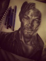 WIP: Daryl Dixon - The Walking Dead