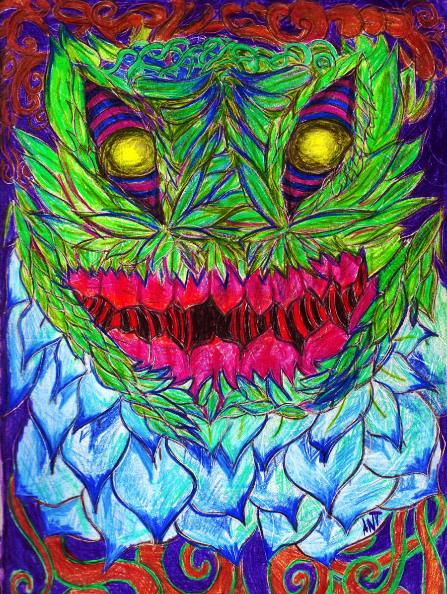 Weed Monster by Antzombie280 on deviantART