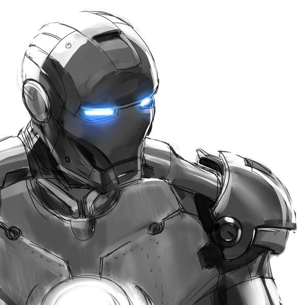 I am Iron Man by nejinoki
