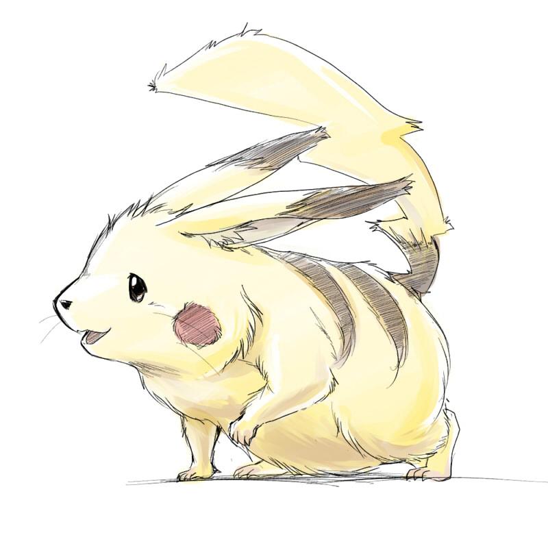 Maybe Pikachu by nejinoki