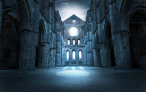 Pre Made Church Background 1 by inkpadalan