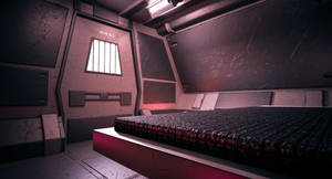 Sci Fi Containment Cell