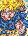 Goku Ssj and Vegeta Ssj