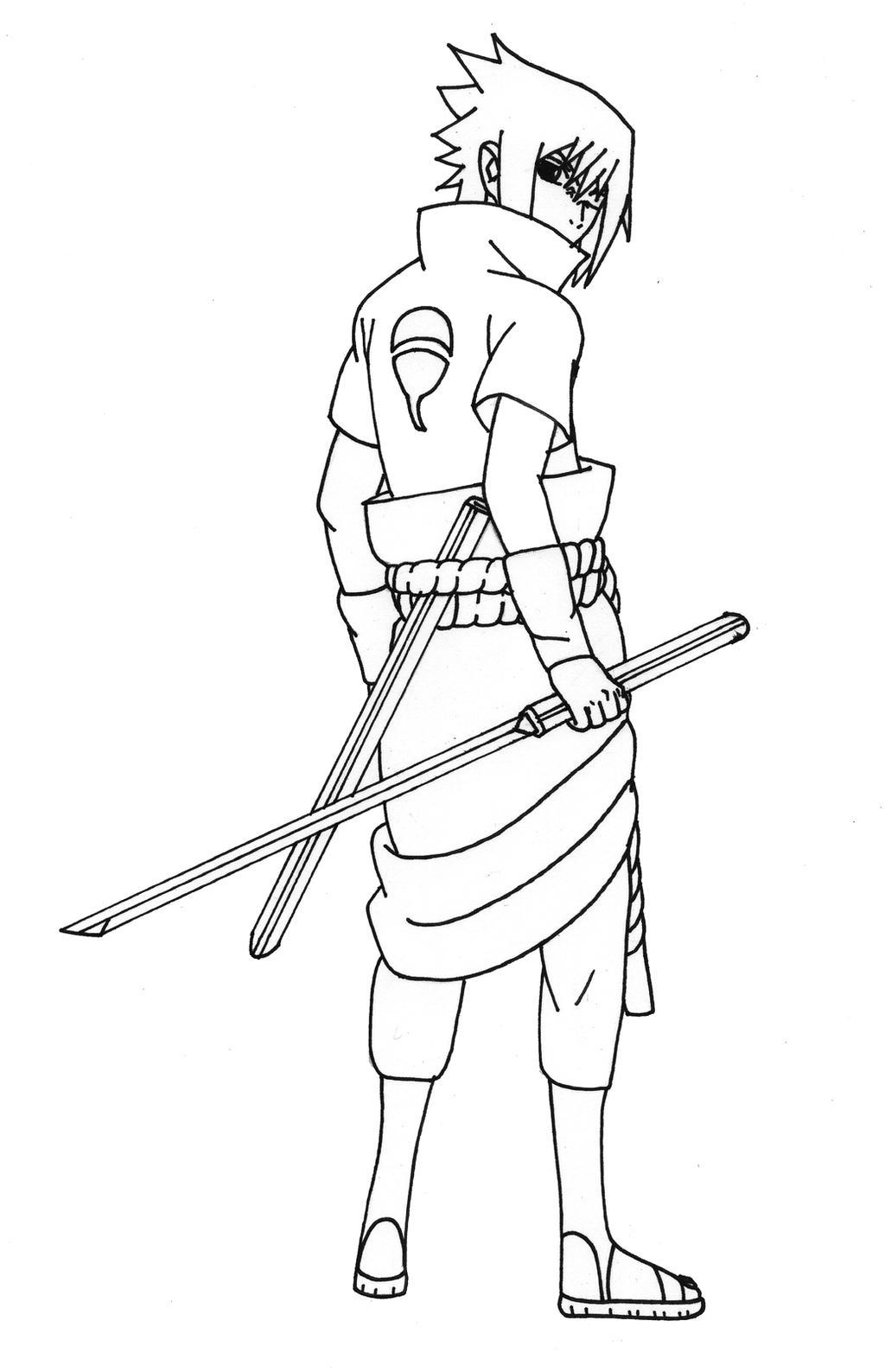 Sasuke Shippuden [Taka] by cheygipe