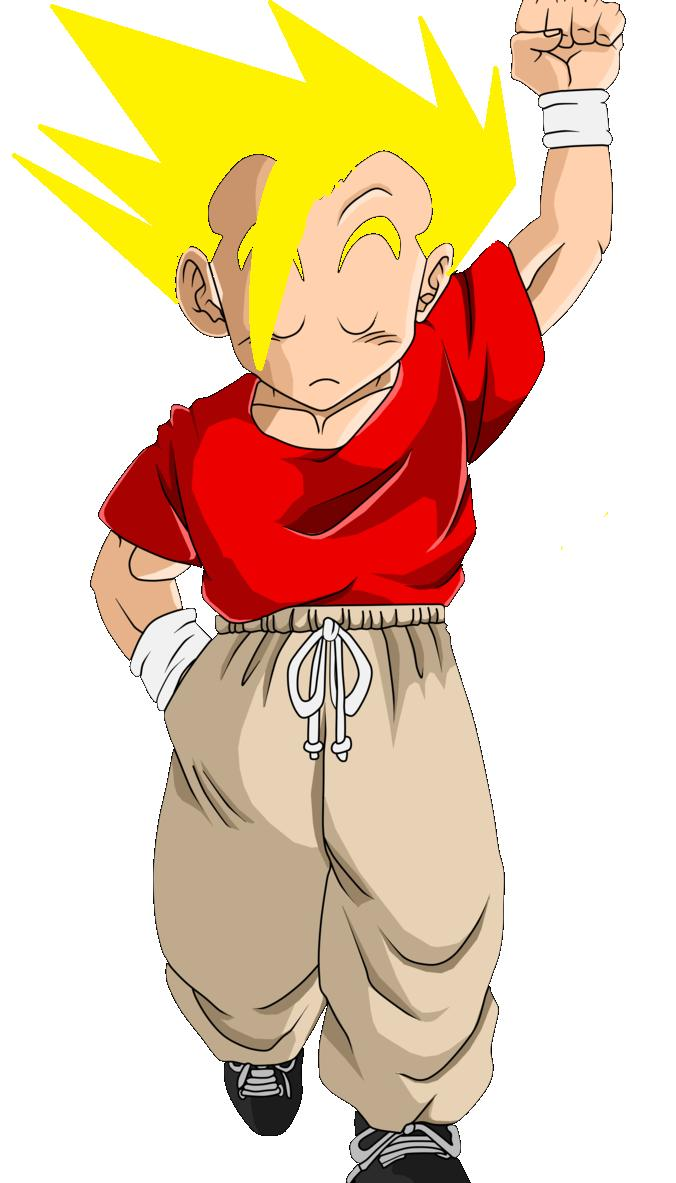 Pictures Of Krillin With Hair Super Saiyan Rock Cafe