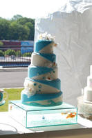 Aquarium wedding cake by ncspurlin