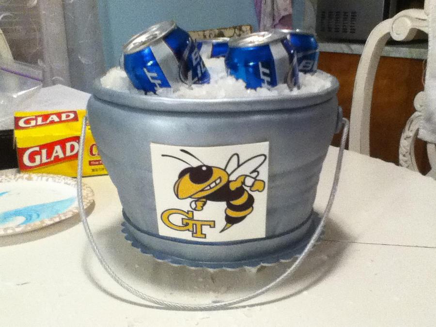 Ice Bucket Cake Tutorial