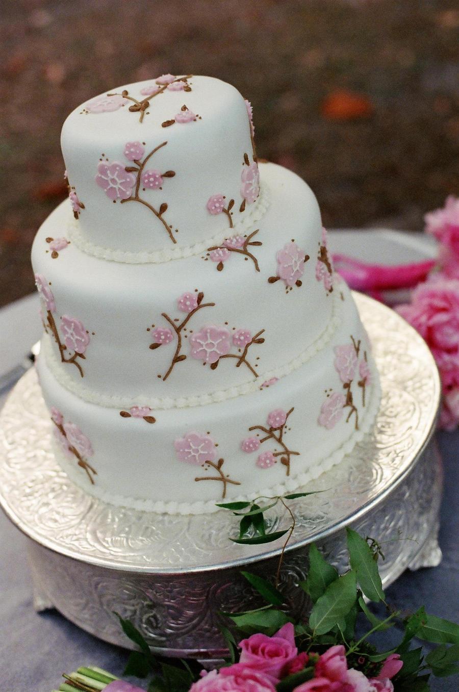 Cherry Blossom Cake Images