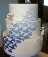 tessellation wedding cake by ncspurlin