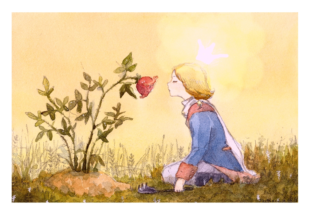 The Little Prince and the Rose. by Kettana