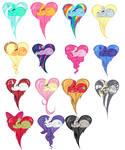mlp fim hearts