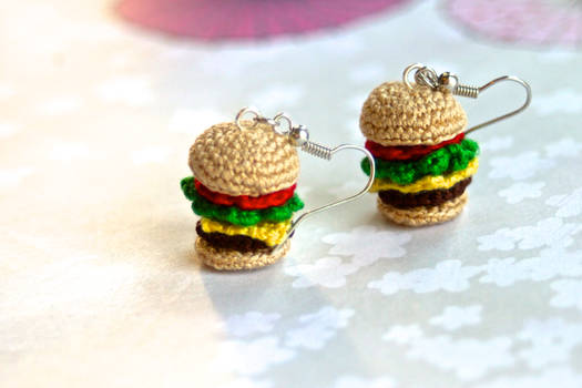 Crabby Patty Earrings