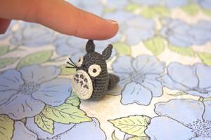 Miniature Totoro Amigurumi (Alt View) by TheBittiestBaubles