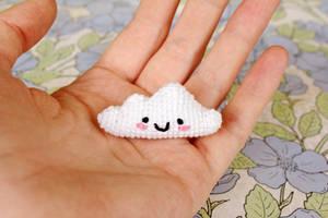 Little Cloud Amigurumi by TheBittiestBaubles