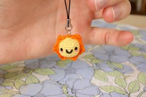 Miniature Sun Amigurumi by TheBittiestBaubles