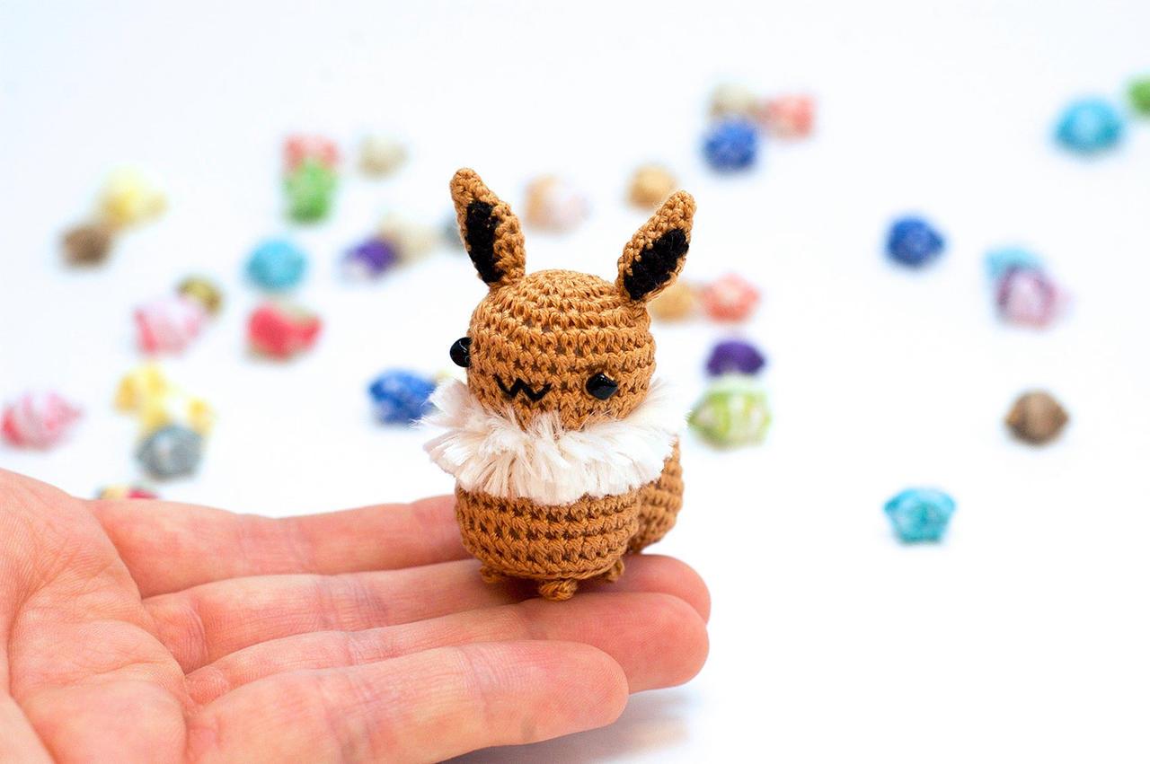 Amigurumi Pokemon Eevee : Eevee Amigurumi by TheBittiestBaubles on DeviantArt