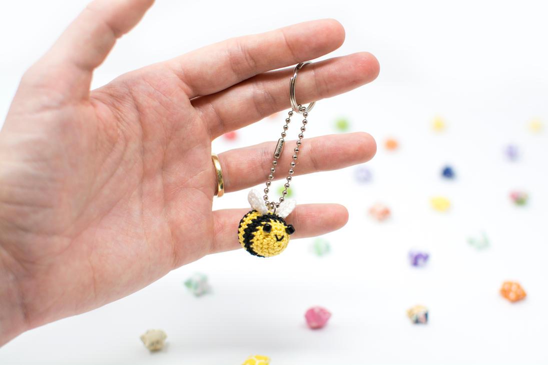 Bee Keychain! by TheBittiestBaubles