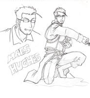 Maes Hughes Fanart by Sorairo