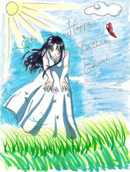 Happy Birthday Chris by Sorairo