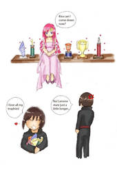 Kira's Trophy by Sorairo